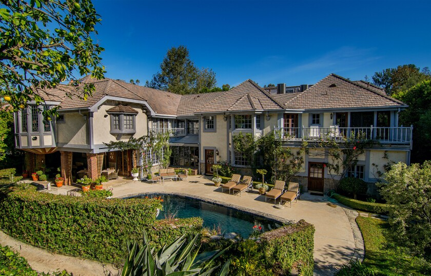 Bob and Gilda Marx's Beverly Hills home