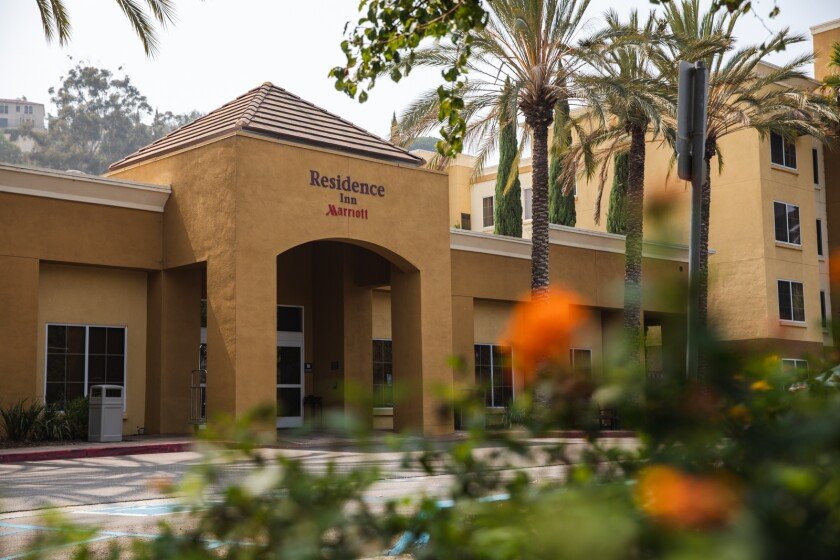 The Residence Inn by Marriott located at Hotel Circle in Mission Valley.