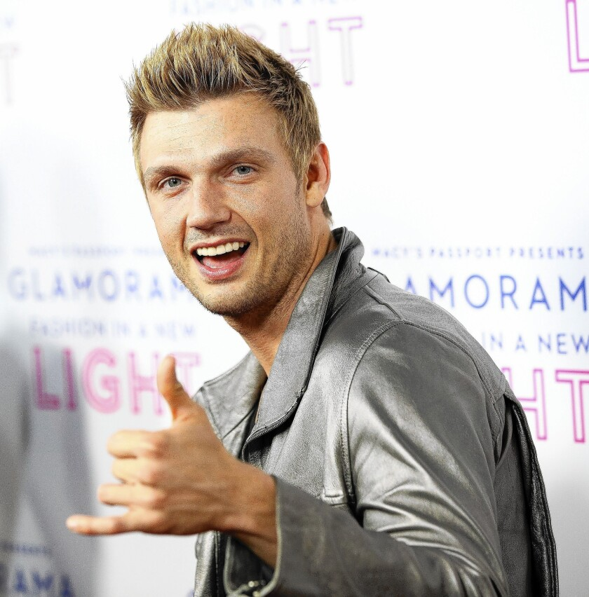 Singer Nick Carter of Backstreet Boys has lost weight and adopted a more healthful lifestyle.
