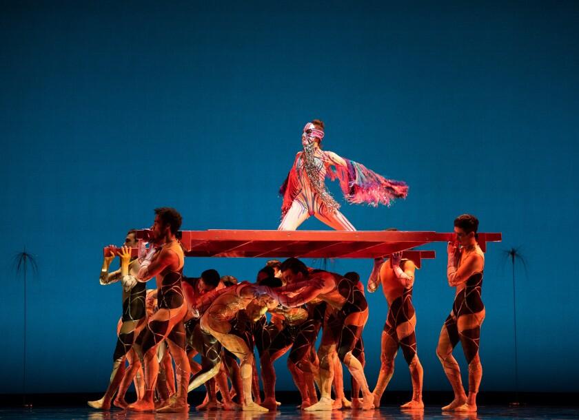 "San Francisco Ballet in Pita's ""Bjork Ballet."""