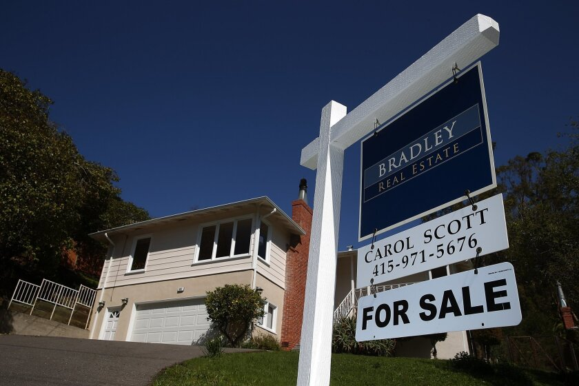 A home is listed for sale in San Rafael. According to a report from WalletHub, California ranks 17th nationwide for the lowest property taxes in 2015.
