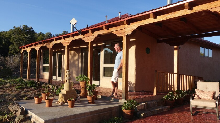 Casa Manzano is a 20-minute drive from the Quarai ruins, nestled among piñon and juniper trees. The