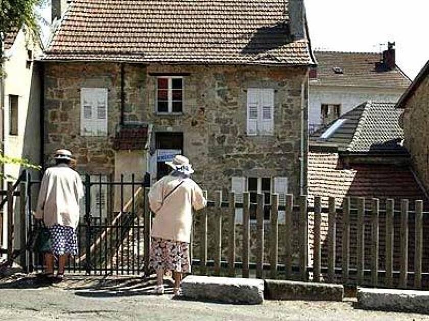 The street in le Chambon-sur-Lignon where Jews were hid.