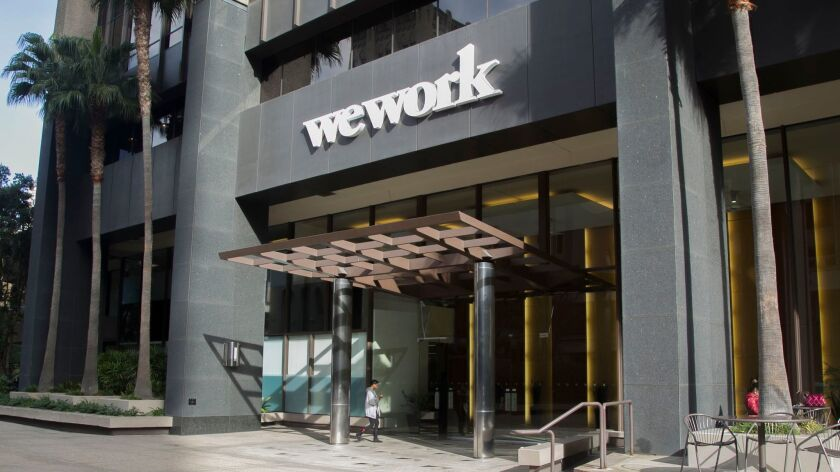 WeWork occupies six floors at 600 B St.