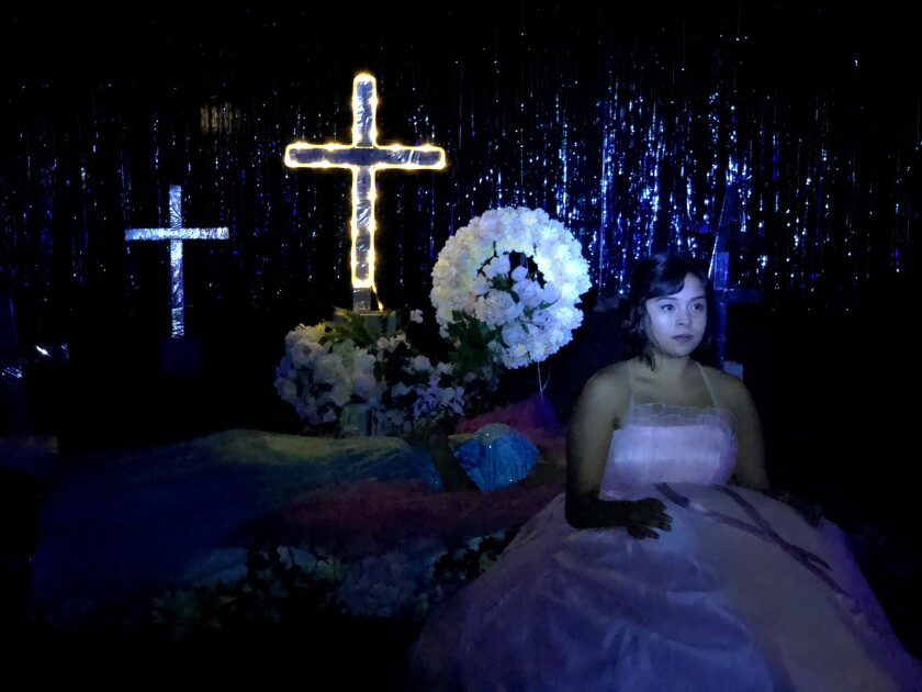 'Las Quinceneras' is part of La Jolla Playhouse's Without Walls online performances.