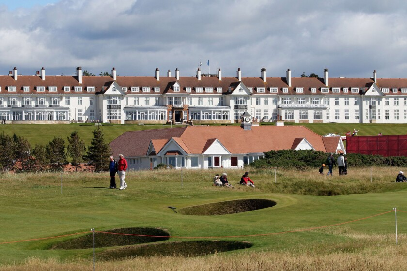 The Trump Turnberry Resort was purchased by Trump in 2014.