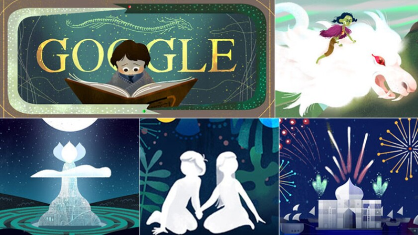 The Neverending Story Google Doodle