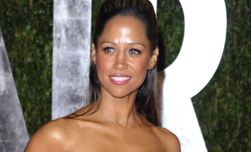 Stacey Dash, shown at the Vanity Fair Oscars party in 2010, has signed on with Fox News as a regular contributor.
