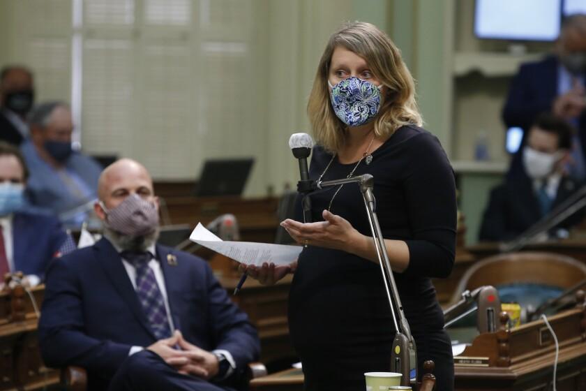 Assemblywoman Buffy Wicks, D-Oakland, in June 2020.