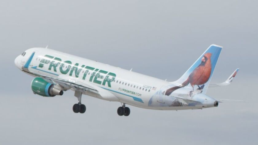 Frontier Airlines will start flying nonstop to Austin, Cincinnati and Cleveland, beginning this spring.