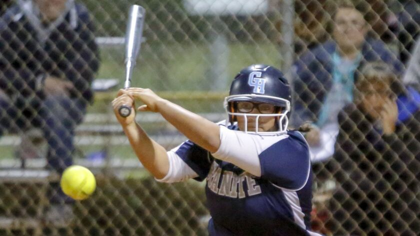 Staci Chambers is a key member of the top-ranked Granite Hills softball team.