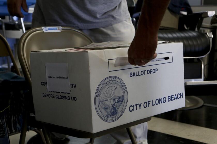 Voter registration data