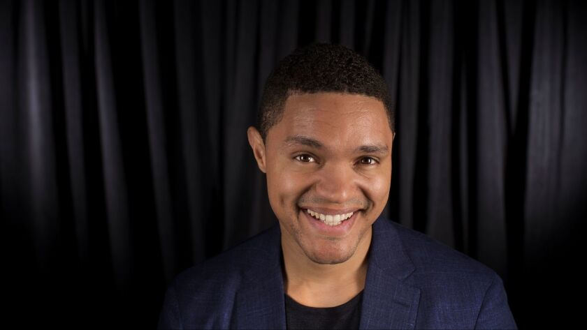 "LOS ANGELES, CA. -- MONDAY, MAY 22, 2017 -- Trevor Noah, host of Comedy Central's ""The Daily Show"""