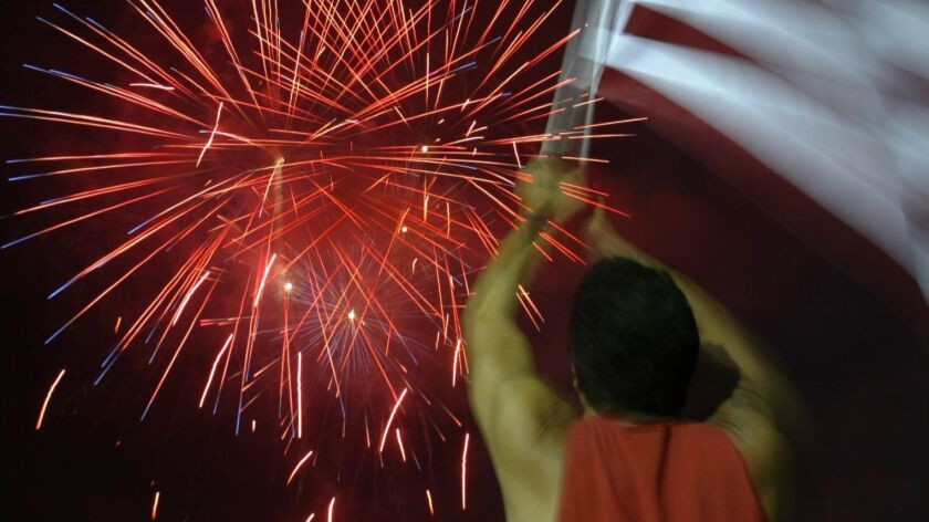 The city of Lancaster is gearing up to defy a Los Angeles County ban on Fourth of July fireworks displays.