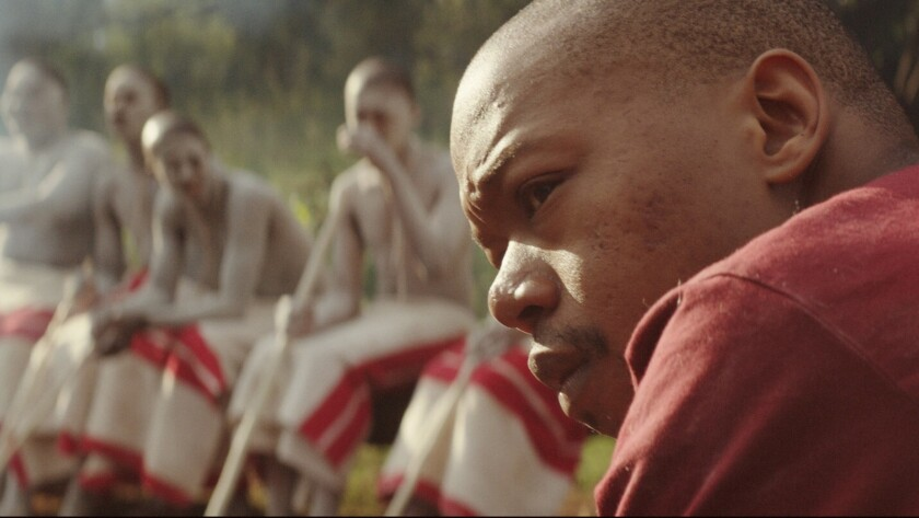 """Nakhane Toure in """"The Wound,"""" movie. CREDIT: courtesy Kino Lorber"""