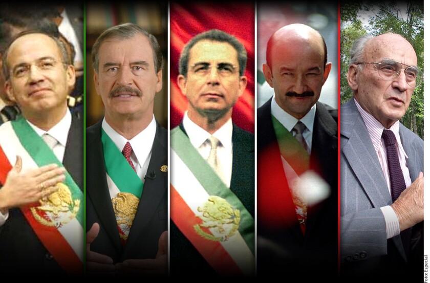 """La nómina más cara es la de Felipe Calderón Hinojosa, quien tiene 14 funcionarios, entre ellos Tomislav Lendo Fuentes, con cargo de """"director general"""", quien cobra 195 mil pesos mensuales."""