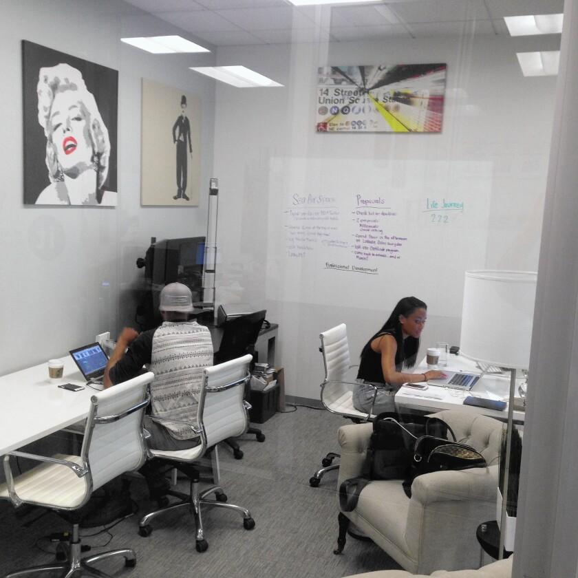 Small Companies Grow On The Vine Irvine S Tech Incubator Los Angeles Times