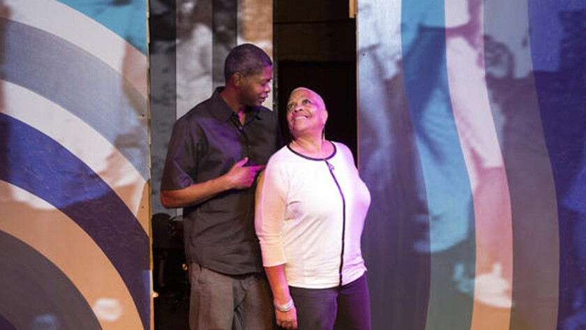 """Script writer Jamelle Dolphin and director Denise Dowse are key figures behind the musical """"Recorded in Hollywood"""" at the Hudson Theater in Hollywood on June 25, 2015."""