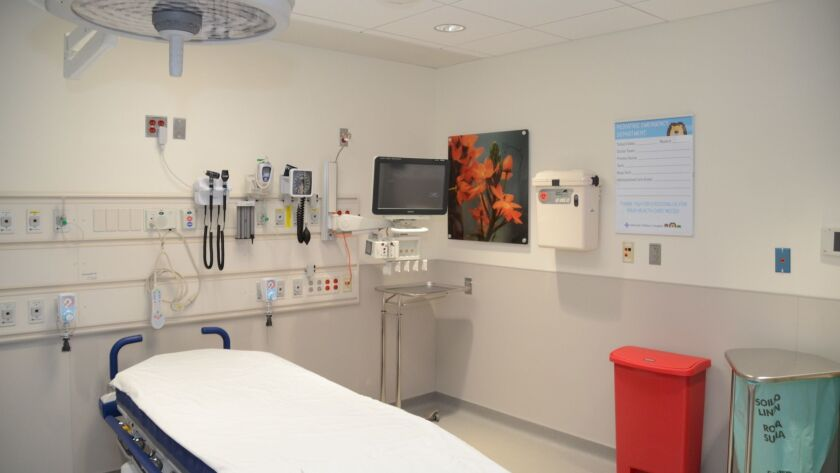 The pediatric emergency department at Advocate Children's Hospital in Oak Lawn. Advocate Children's Hospital and NorthShore University HealthSystem have partnered with University of Comer Children's Hospital on pediatric offerings.
