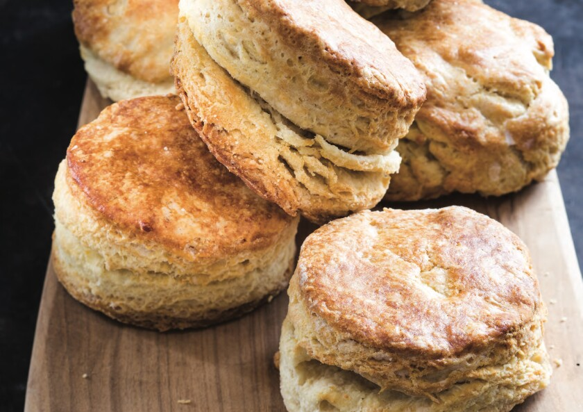 "Buttermilk Biscuits from ""Meals, Music, and Muses."""