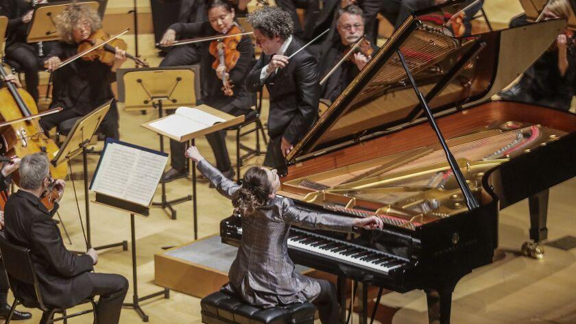 LOS ANGELES, CA, THURSDAY, MAY 23, 2019 -Pianist Yulianna Avdeeva performs Beethoven Piano Concerto