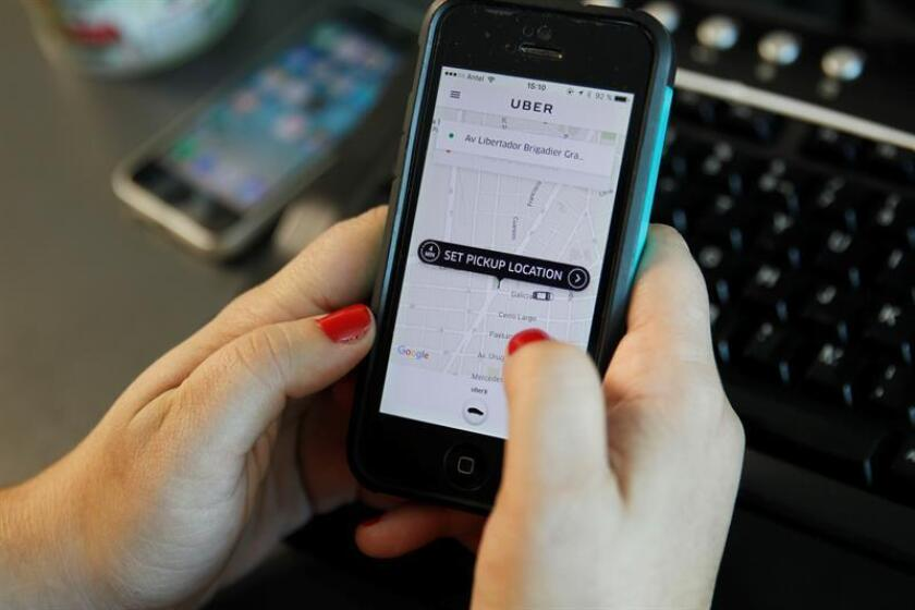 Uber empezó hoy a probar en las calles de San Francisco un pequeño número de vehículos autónomos que amplía el programa piloto que la empresa de transporte inició en septiembre en la ciudad estadounidense de Pittsburg. EFE/ARCHIVO