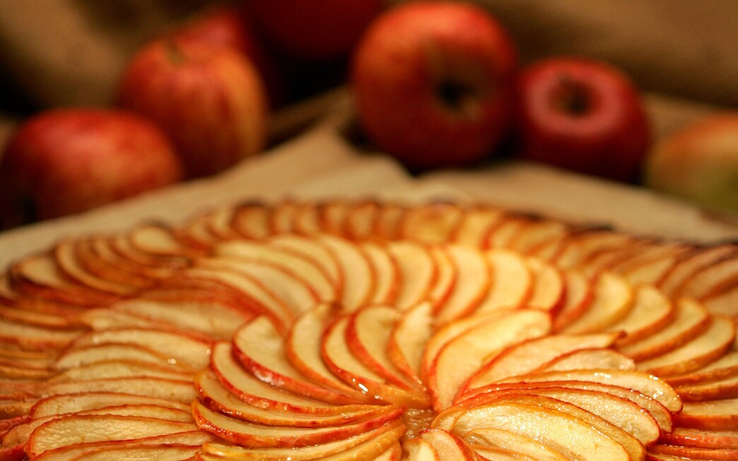 Apple galette