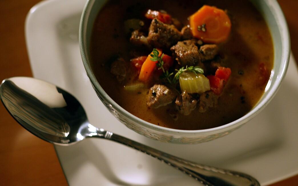 Pam's easy steak soup