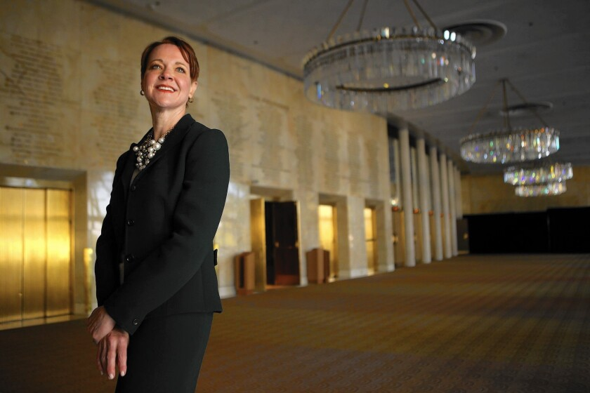 Rachel Moore is president and CEO of the Music Center in Los Angeles.