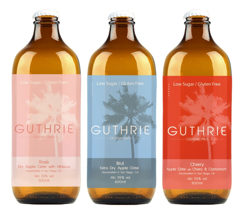Guthrie is sold by the can and by the bottle in a variety of flavors.