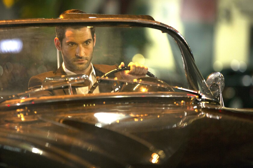 "Tom Ellis plays the title character in ""Lucifer."""