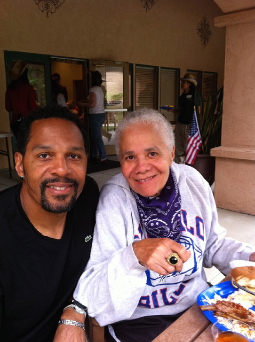 Quinn Early, a 12-year NFL veteran who played for the Chargers and three other teams, has written a screenplay that borrows from his own life - including the Alzheimer's battle of his late mother, Ann.