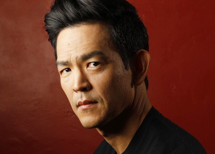 LOS ANGELES, CALIFORNIA--NOV. 23, 2018--Actor John Cho starred in Searching. Photographed in Los Ang