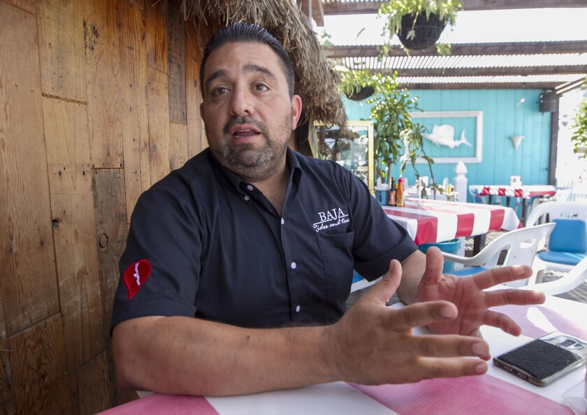 "Tijuana ""fixer"" Arturo Pichardo helps everyone from journalists to tourists to navigate the complexities of Tijuana. He was photographed in Tijuana on Thursday, October 3, 019."
