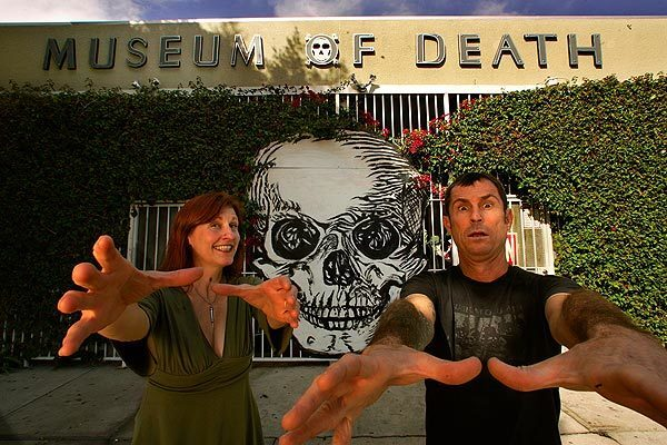Cathee Shultz and J.D. Healy have collected the possessions of serial killers, the mummified heads of decapitated mass murderers and such things as photos of celebrity crime and autopsy scenes for years. Portions of their collection have been on display at their Museum of Death in Hollywood since the first of the year.