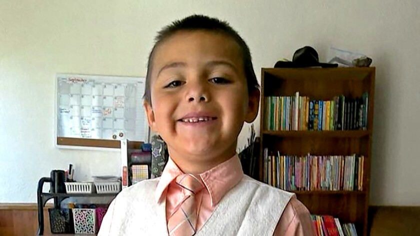 Anthony Avalos, the 10-year-old boy who died last week in Lancaster in a case of suspected child abuse.