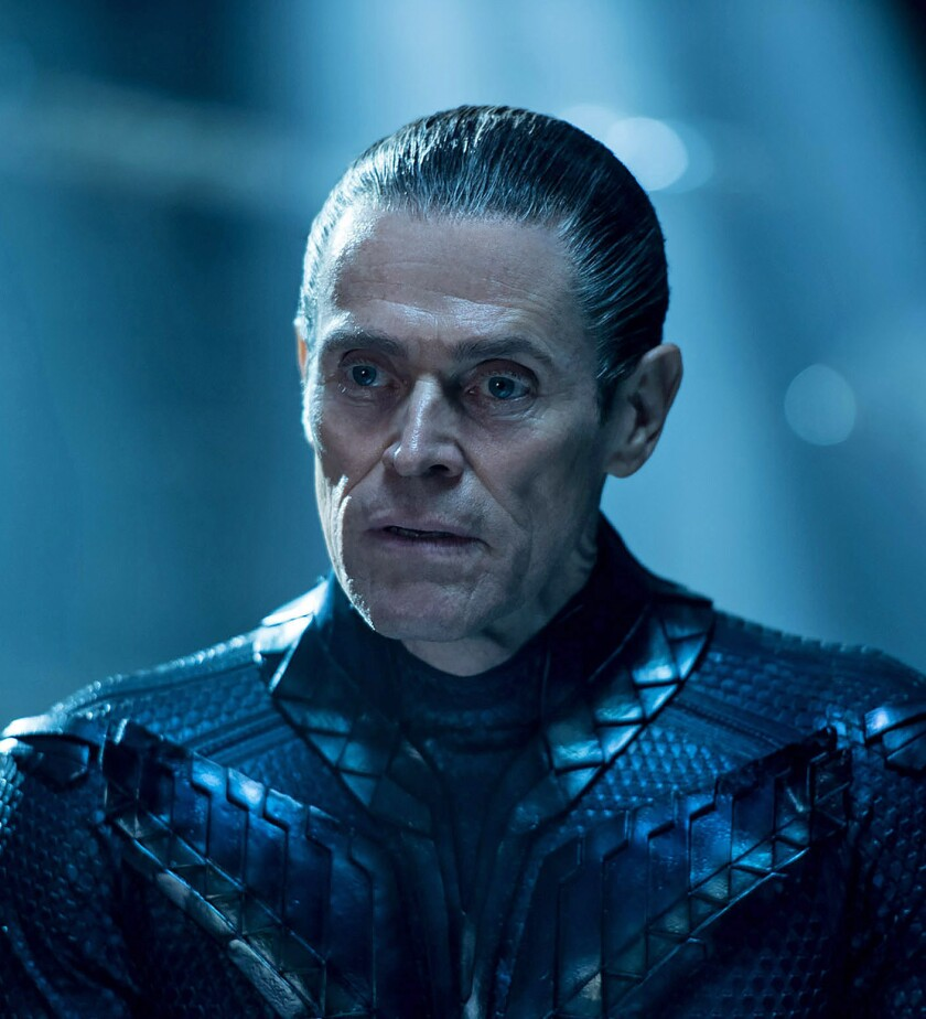 WILLEM DAFOE as Vulko in Warner Bros. Pictures? action adventure ?AQUAMAN,? a Warner Bros. Pictures