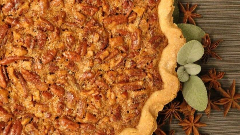Pecan pie from The Curious Fork