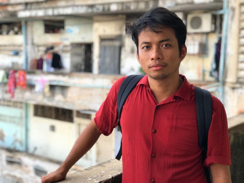 Cambodian filmmaker Kavich Neang