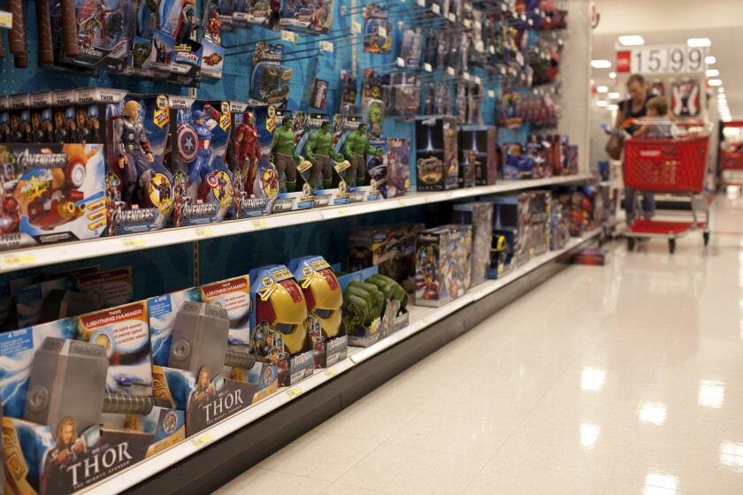 Target's holiday plan involves QR codes, exclusive toys