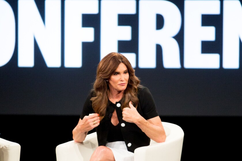 Caitlyn Jenner. (Photo by Rich Fury/Invision/AP)