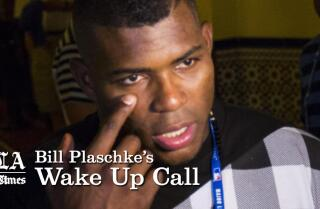 Bill Plaschke's Wakeup Call: Puig's trip to Cuba hopefully helps the Dodgers