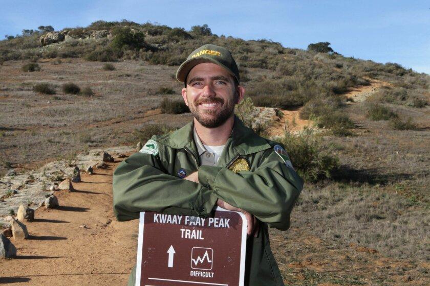 Levi Dean, Mission Trails Regional Park ranger