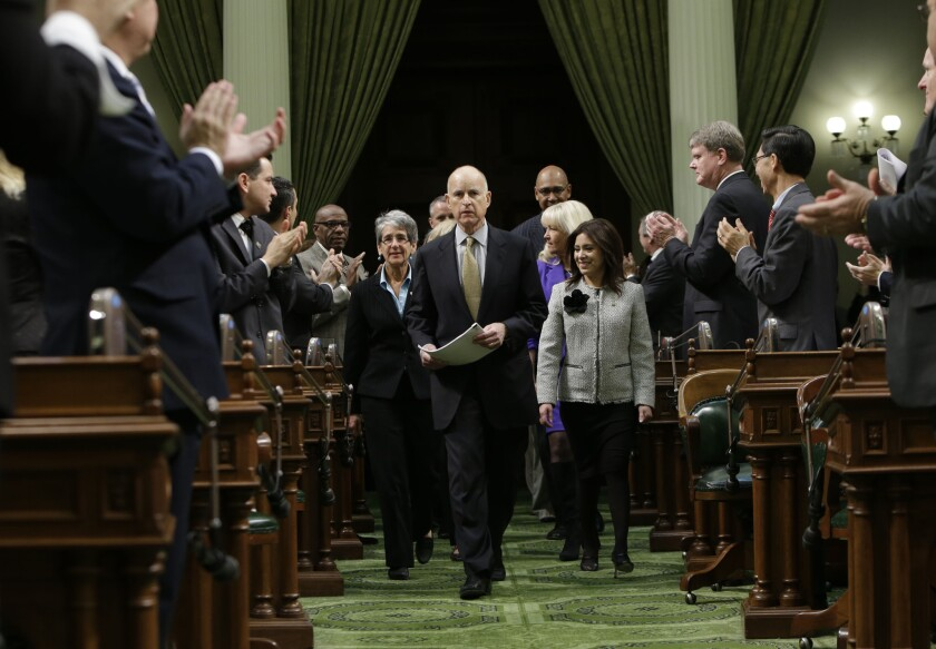 Jerry Brown, California's comeback king