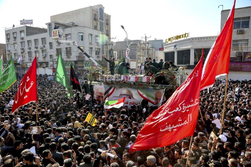 Iranians mourn Gen. Qassem Suleimani