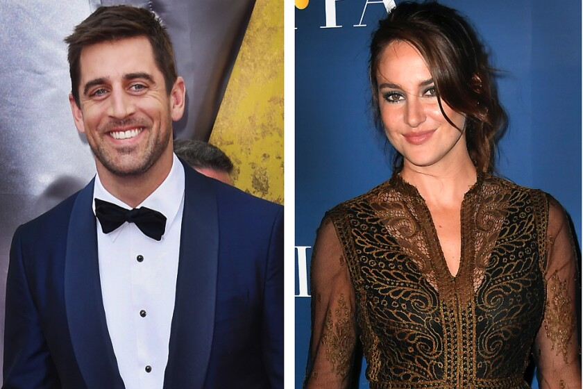 Shailene Woodley confirms engagement to Aaron Rodgers - Los Angeles Times