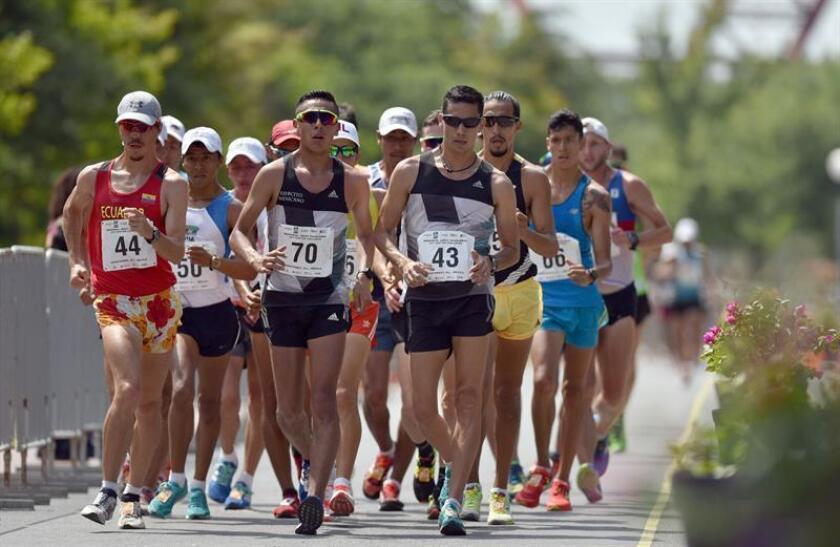 El keniano Teferi Bacha, con un mejor tiempo personal de 2 horas 07 minutos 35 segundos, y el etíope Erick Monyeye, con 2h 09:44, confirmaron su presencia en el Maratón de Monterrey que se correrá el próximo domingo por varios de los principales barrios de la urbe del norte mexicano. EFE/Archivo