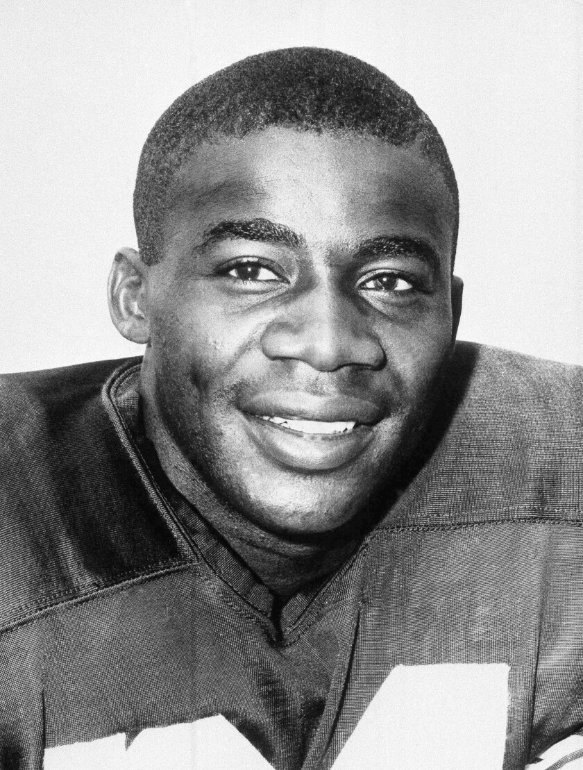 Willie Wood in 1959 while with the Green Bay Packers.