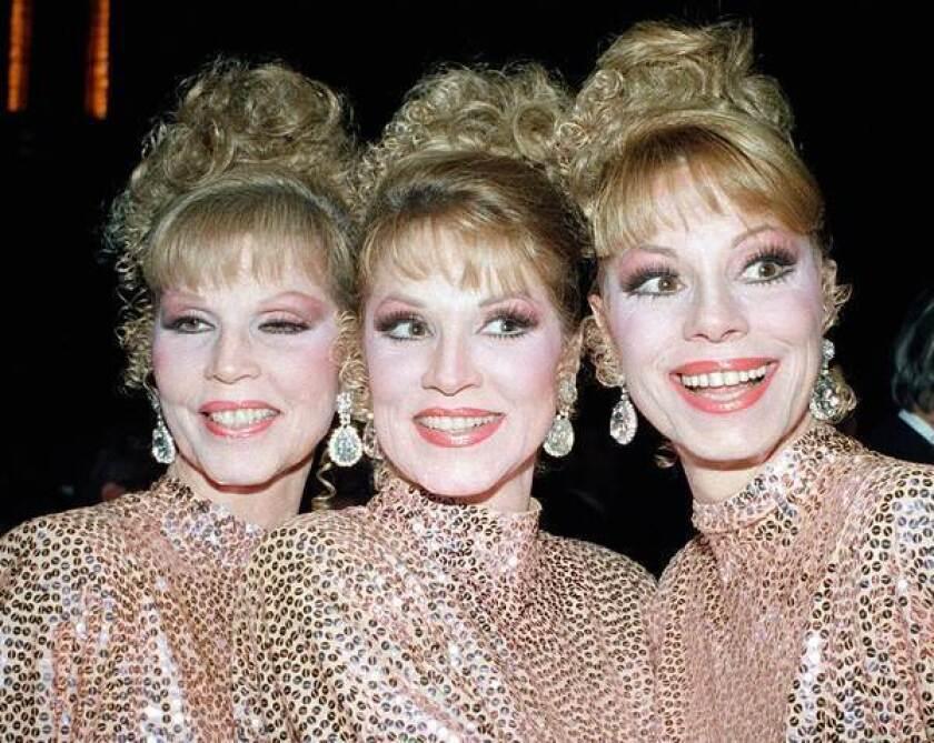 Dorothy McGuire of singing trio the McGuire Sisters dies at 84