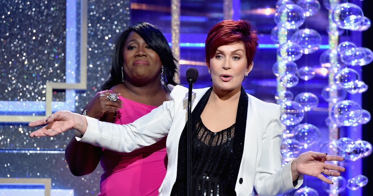 The Talk Is On Hold And Sharon Osbourne Is On Defense Los Angeles Times